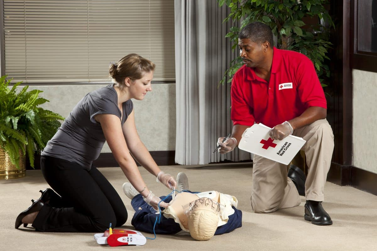 Red Cross Instructor Training & Certification